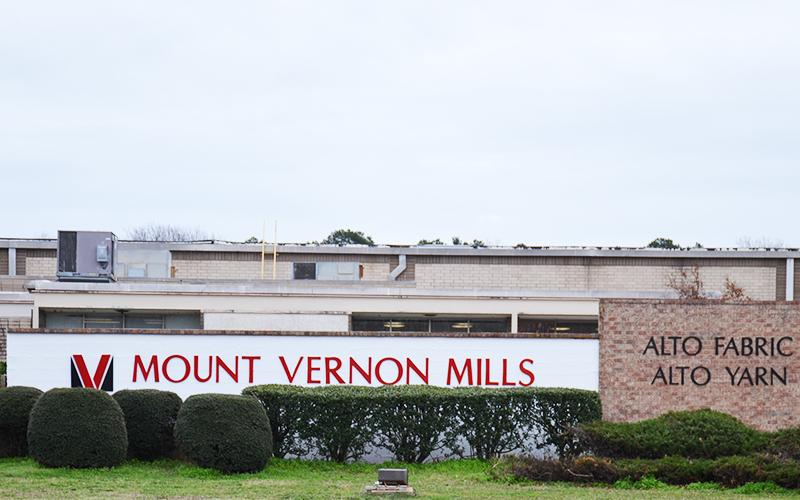 Mount Vernon Mills in Alto employs nearly 600 people.