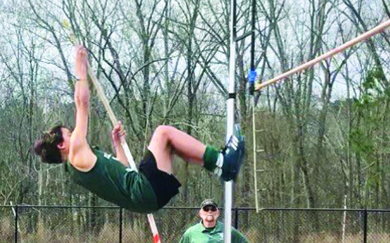 Tallulah Falls' Clay Kafsky is the 8th-ranked middle school pole vaulter in the state.