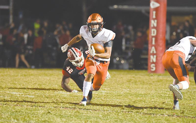 Habersham Central's Jackson Clouatre is still on a 1,000-yard pace for the second-straight season. TOM ASKEW/Special