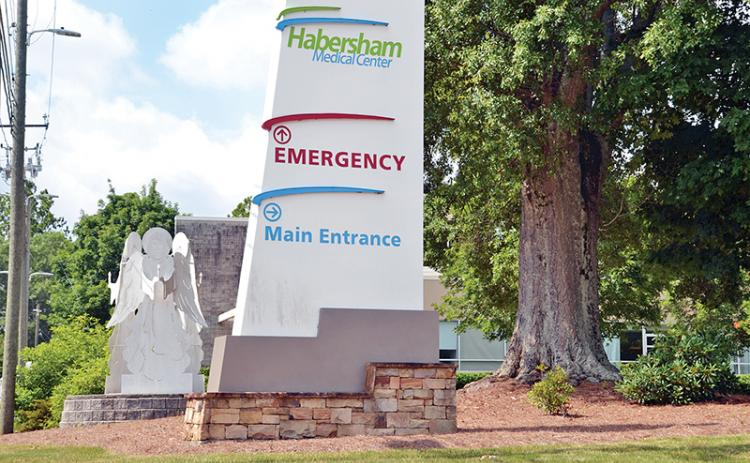 Habersham Medical Center is closed to visitors for now.