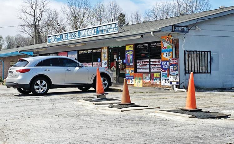 Authorities are looking for a suspect in the robbery at Lake Russell Convenience Store in Mt. Airy.