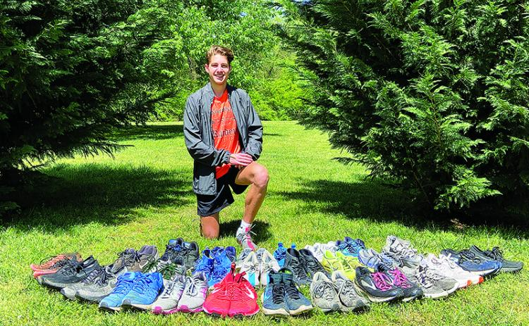 Habersham Central junior Andrew Kivett started a charity in October to help and inspire runners, and he does not plan to let the COVID-19 crisis stop him from growing it in the future.