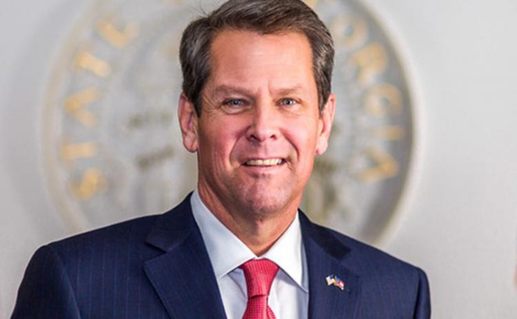 Gov. Brian Kemp signed the state budget Tuesday.
