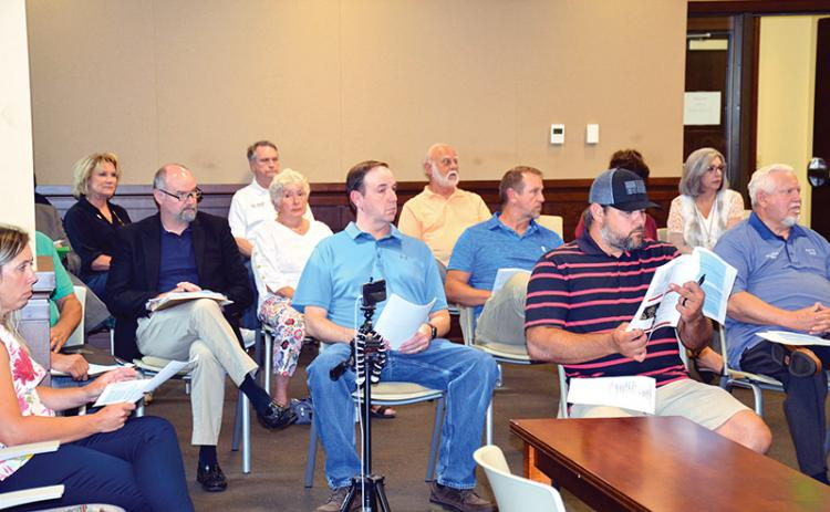 Municipal leaders from across the county gathered Tuesday to finalize the SPLOST VII formulas and project lists.