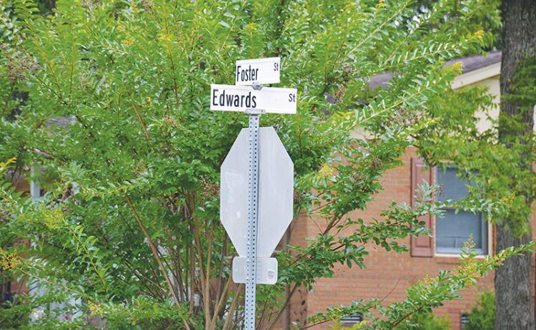 Residents have been on edge about speeders near the intersection of Foster and Edwards Streets in Cornelia.