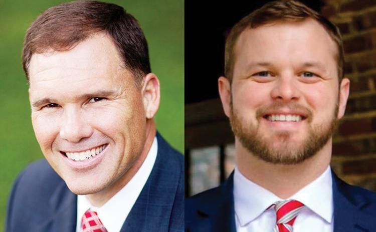 Stacy Hall and Bo Hatchett are opposing each other in the District 50 Senate runoff on Aug. 11.