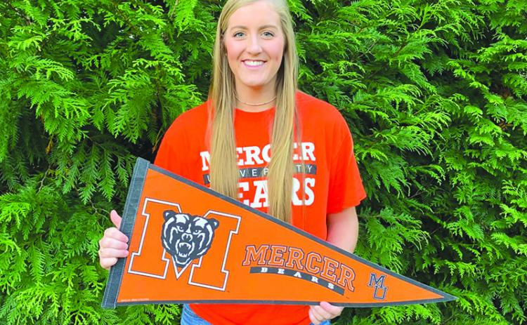 Tallulah Falls' Katy Corbett will play beach volleyball at Mercer University.