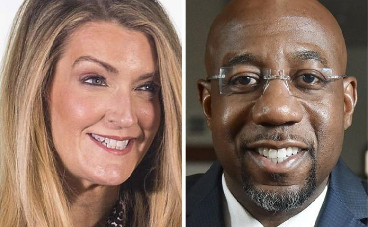 Sen. Kelly Loeffler and Rev. Raphael Warnock square off in a Jan. 5 showdown for Loeffler's Senate seat.