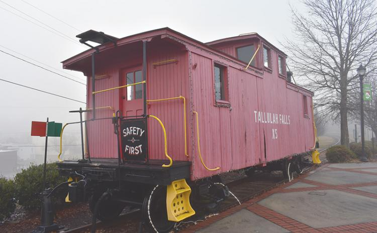 The Tallulah Falls Railroad X5 Caboose in Cornelia is in need of refurbishing in the near future.